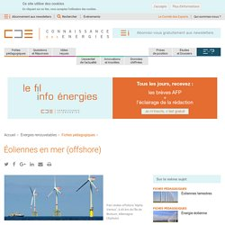 Éoliennes offshore : explications, fonctionnement, installation