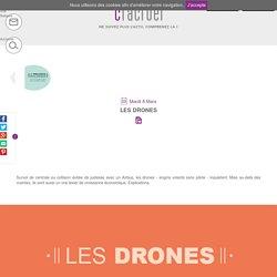 L'essor des drones, explications sur leurs usages en infographie