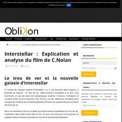 Analyse et explications de la fin d'Interstellar de Christopher Nolan