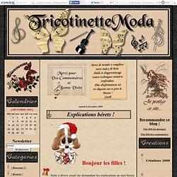 Explications bérets ! - ModeTricotinette