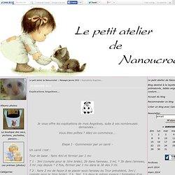Explications Angelines... - Le petit atelier de Nanoucrochet