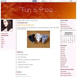 Explications de la petite souris - Fun is free