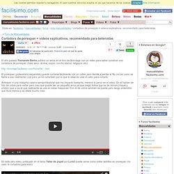 Cortadora de porexpan + videos explicativos, recomendado para belenistas