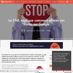La CNIL explique comment effacer ses traces sur Google-Mozilla Firefox