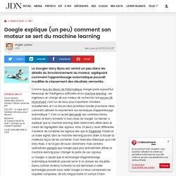 Google explique (un peu) comment son moteur se sert du machine learning