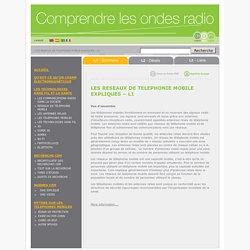 EMF Expliqué Série - LES RESEAUX DE TELEPHONIE MOBILE EXPLIQUES – L1