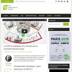 La COP 21 expliquée en 3 minutes par la Fondation Nicolas Hulot