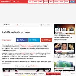 La SOPA expliqué en vidéos