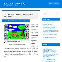 Les Creatives Commons expliquées en maternelle