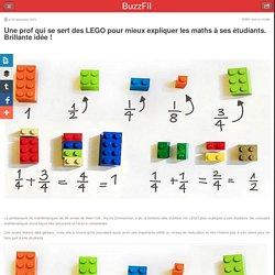 Une prof qui se sert des LEGO pour mieux expliquer les maths à ses étudiants....