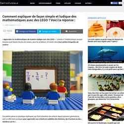 Comment expliquer de façon simple et ludique des mathématiques avec des LEGO ? Voici la réponse :