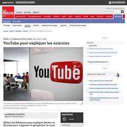 YouTube pour expliquer les sciences