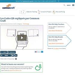 Les Codes QR expliqués par Common Craft