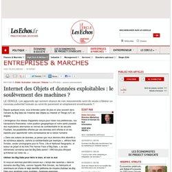 Internet des Objets et données exploitables : le soulèvement des machines