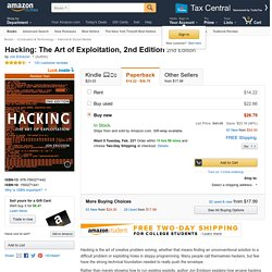 Hacking: The Art of Exploitation, 2nd Edition (9781593271442): Jon Erickson