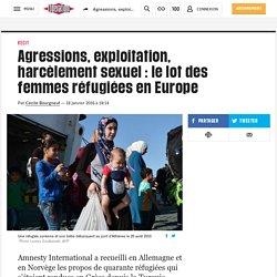 Agressions, exploitation, harcèlement sexuel : le lot des femmes réfugiées en Europe