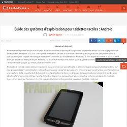 Guide des systèmes d'exploitation pour tablettes tactiles : Android