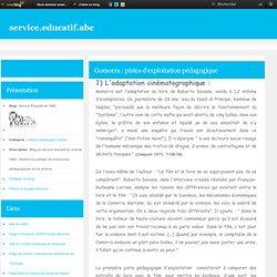 Gomorra : pistes d'exploitation pédagogique - Service Éducatif de l'ABC