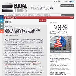 Zara et l'exploitation des travailleurs au Chili