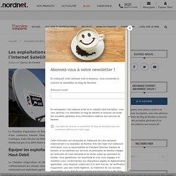 NORDNET 26/02/20 Les exploitations agricoles bretonnes testent l'Internet Satellite