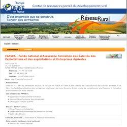 FAFSEA - Fonds national d'Assurance Formation des Salariés des Exploitations et des exploitations et Entreprises Agricoles