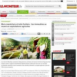 Murs maraîchers et toits fruitiers : les immeubles se muent en exploitations agricoles - Environnement