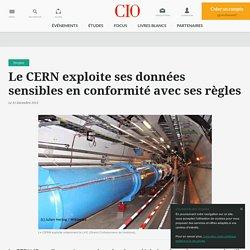 Le CERN exploite ses données sensibles en conformité avec ses règles
