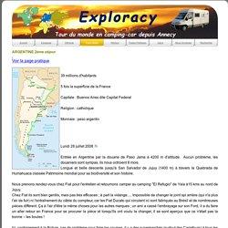 Exploracy les pays visites