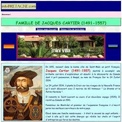 Jacques Cartier, explorateur et navigateur français, né à Saint-Malo