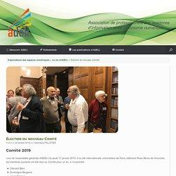 Élection du nouveau Comité - Explorateurs des espaces numériques