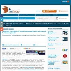 Exploratice : l'initiation à la recherche documentaire sur Internet pour les élèves du primaire