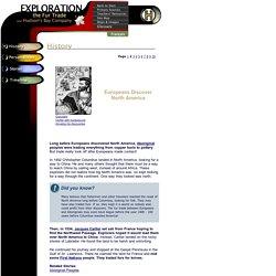 Exploration, the Fur Trade and Hudson's Bay Company - History