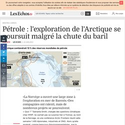 Pétrole : l'exploration de l'Arctique se poursuit malgré la chute du baril