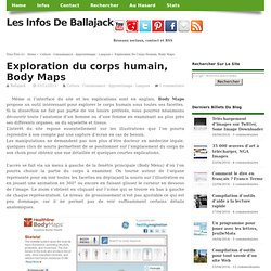 Exploration du corps humain, Body Maps
