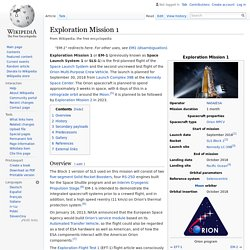 Exploration Mission 1