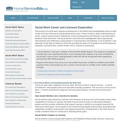 The Social Worker: A Career Exploration Towards a Social Work Occupation: Education, Practice, Ethics, Policy, Theory