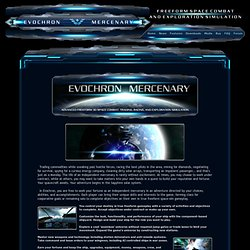 Freeform Space Combat / Trader and Exploration Simulator (PC Space-Sim) - Evochron Mercenary