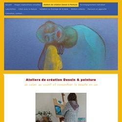 Les Ateliers du Vivant - Stages nature, explorations sensibles dans la Drôme - Ateliers de création Dessin & Peinture