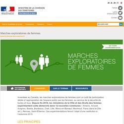 Marches exploratoires de femmes - Ville.gouv.fr - Ministère de la Cohésion des territoires
