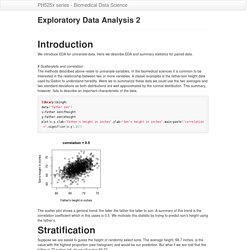 Exploratory Data Analysis 2