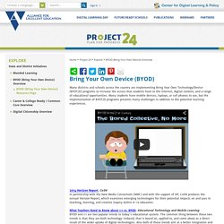 Explore / BYOD (Bring Your Own Device) Resource Page