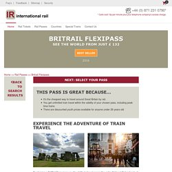 Explore the uk with a flexi pass from International Rail