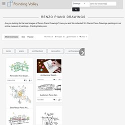 Explore collection of Renzo Piano Drawings