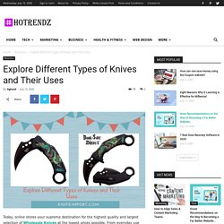 Explore Different Types of Knives and Their Uses - HoTrendz