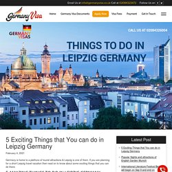 Explore the Enthralling Leipzig Germany with Loved Ones