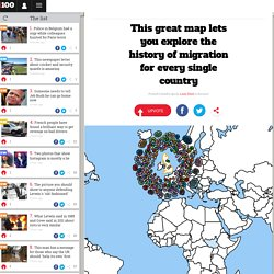 This great map lets you explore the history of migration for every single country