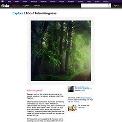Découvrez le contenu intéressant dans Flickr