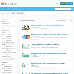 Explore Lessons | LearnZillion
