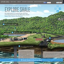 Explore Shale geology, water, gas, oil