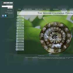 The MCP Wheel | The Mayan Calendar Portal